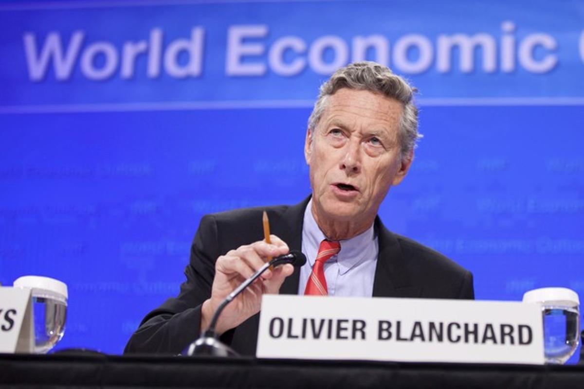 El economista jefe del Fondo Monetario Internacional (FMI), Olivier Blanchard, en septiembre del 2011.
