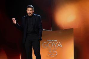 Banderas, maestro de ceremonias de la gala de los Goya