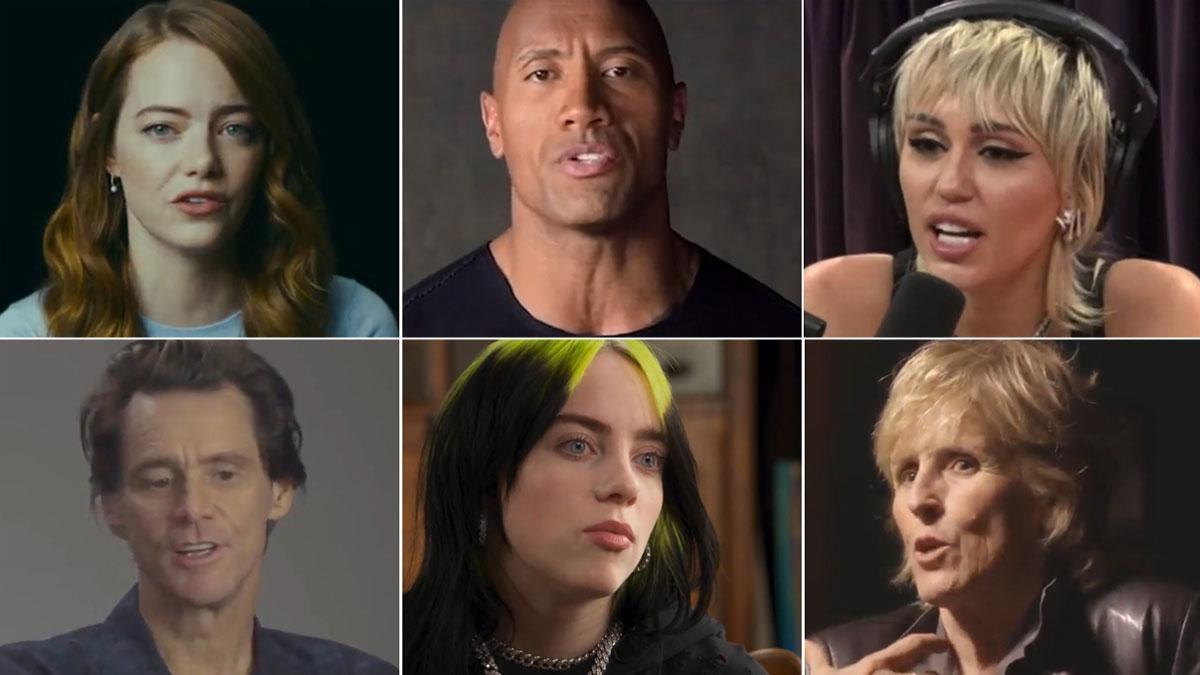 Los famosos confiesan su trastorno mental.