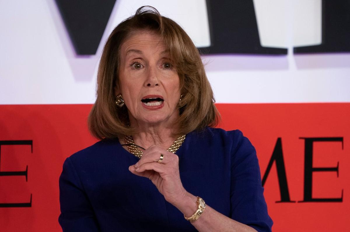 Nancy Pelosi,presidenta de la Cámara de Representantes de los EEUU.