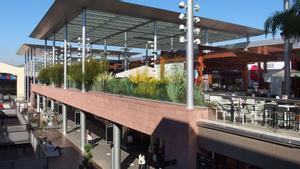 El centro comercial La Maquinista