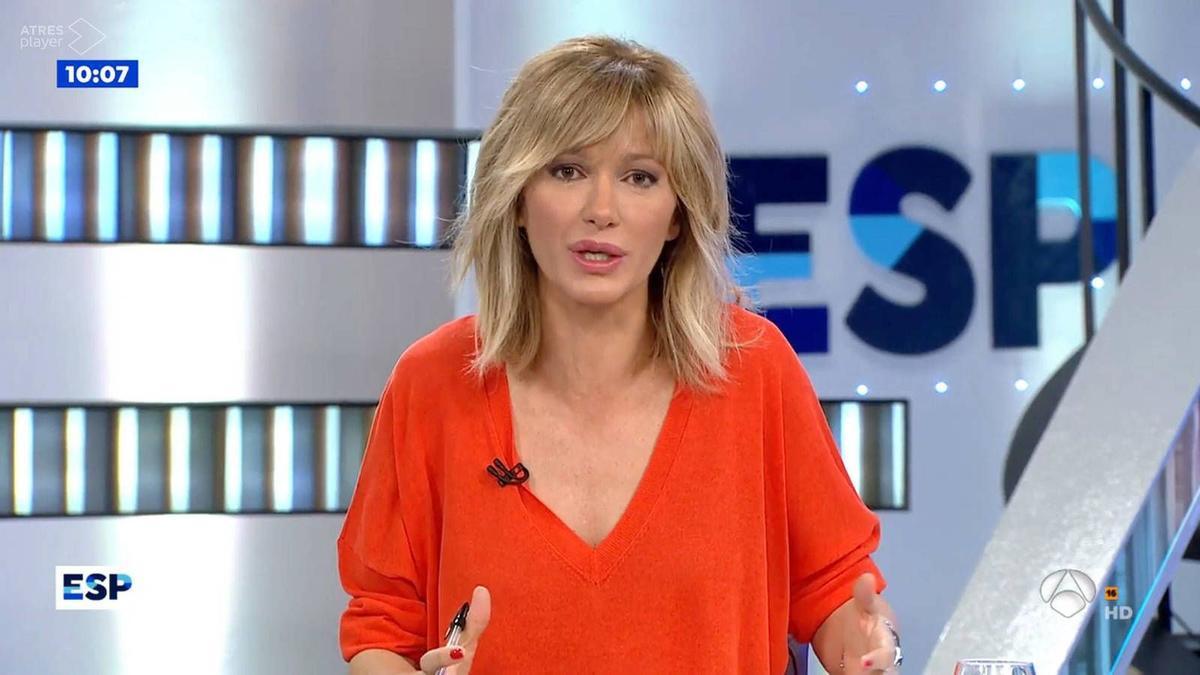 """La sorpresa de Susana Griso por """"el condón sanitario"""""""