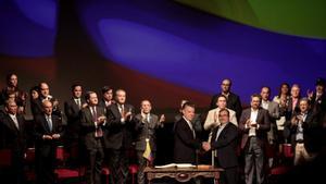 La JEP acusa de segrest vuit antics alts caps de les FARC