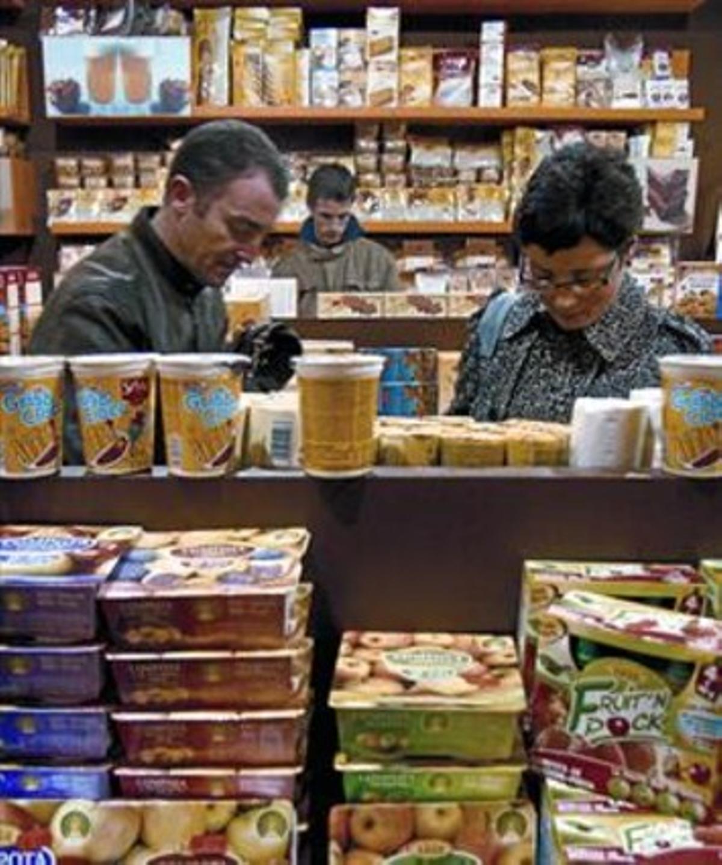 Tienda de alimentos para celiacos en Diagonal Mar, en el 2008.