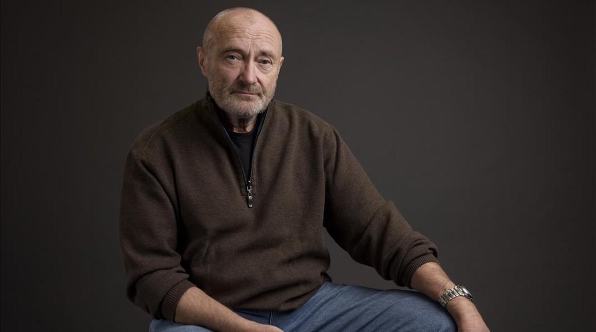 Phil Collins, en febrero del 2016.