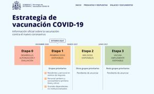 El Govern llança una web per informar sobre les vacunes