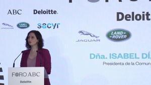 Isabel Díaz Ayuso en una imagen del 23 de febrero del 2021.