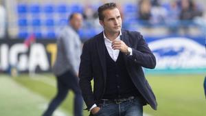 Rubén Baraja, destituido del Sporting.