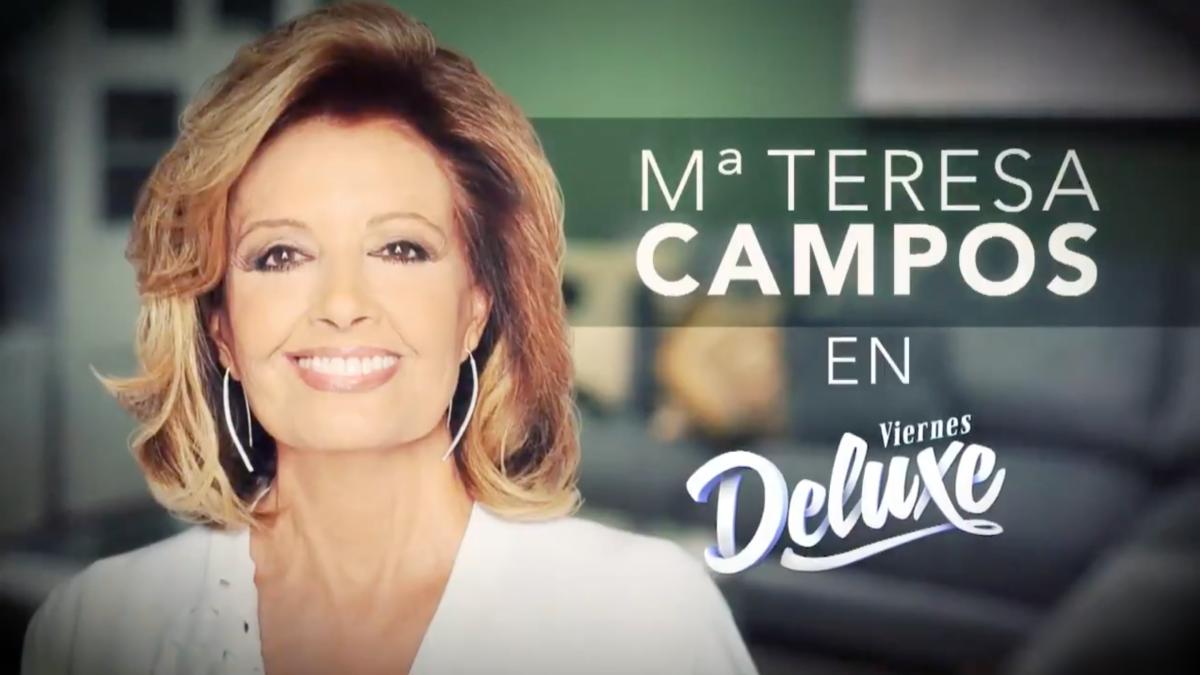 María Teresa Campos, invitada estrella de 'Viernes Deluxe'ele
