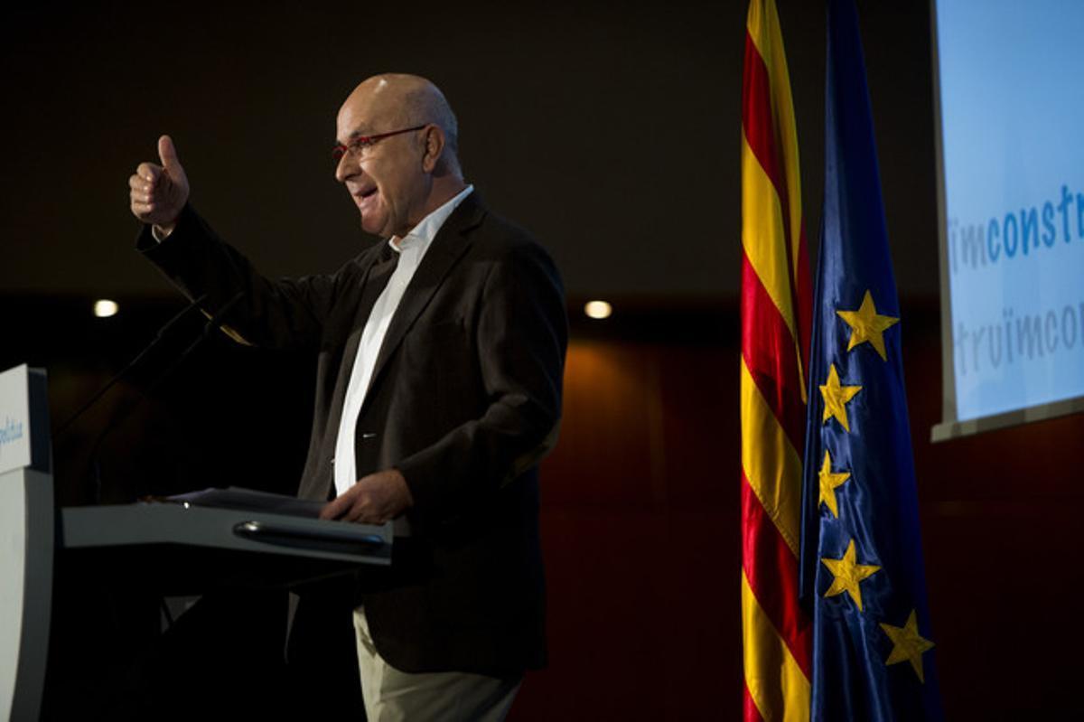 Duran presenta la plataforma Construïm para refundar el centro político