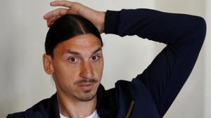 Zlatan Ibrahimovic en una foto de archivo.