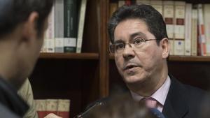 El juez Pedro Izquierdo, elegido ponente del juicio contra Chaves y Griñán.