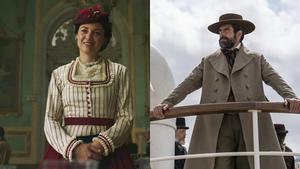 Leonor Watling (Soledad Montalvo) y Rafael Novoa (Mauro Larrea), en 'La Templanza'.