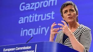 Margrethe Vestager, comisaria europa de Competencia.