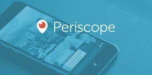 La nova 'app' per a 'streaming' Periscope.