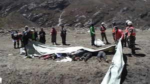 Cadàvers recuperats en una zona rural al Nepal.