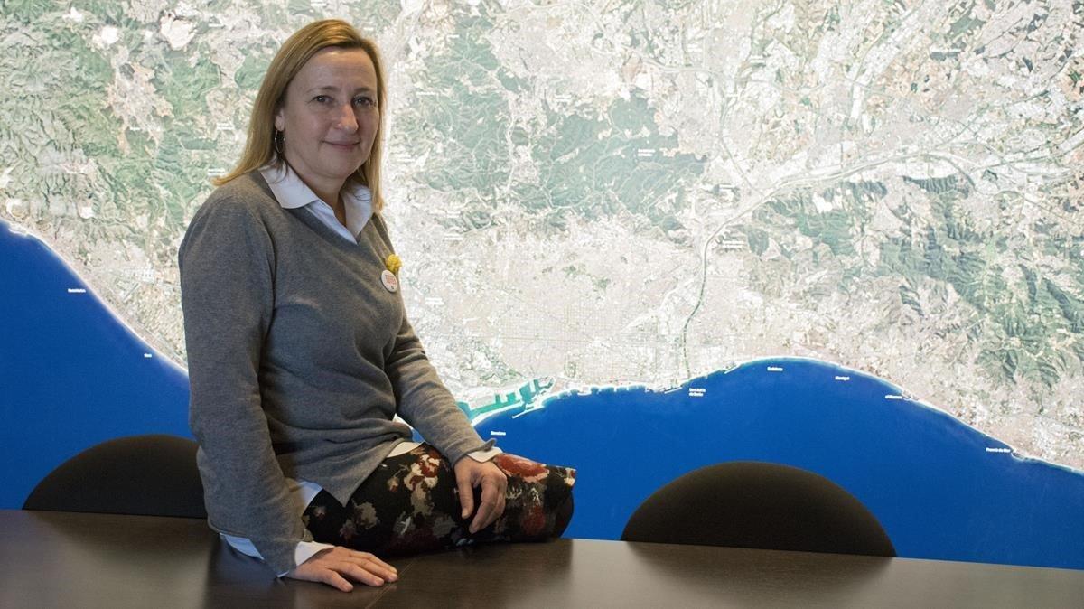 Maite Aymerich: «No podem influir a nivell global sense actuar a escala local»
