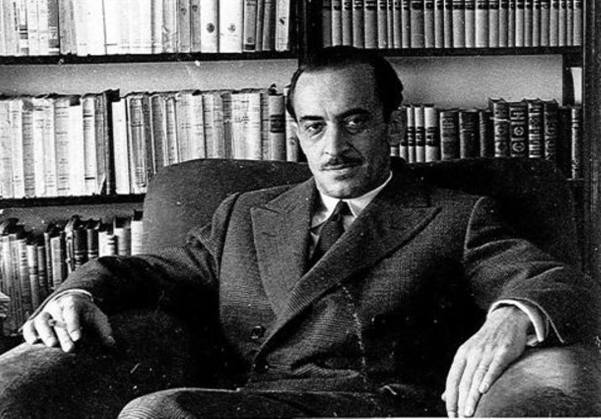 Una imagen del escrito catalán Ignacio Agustí, autor del ciclo de novelas 'La ceniza fue árbol'.