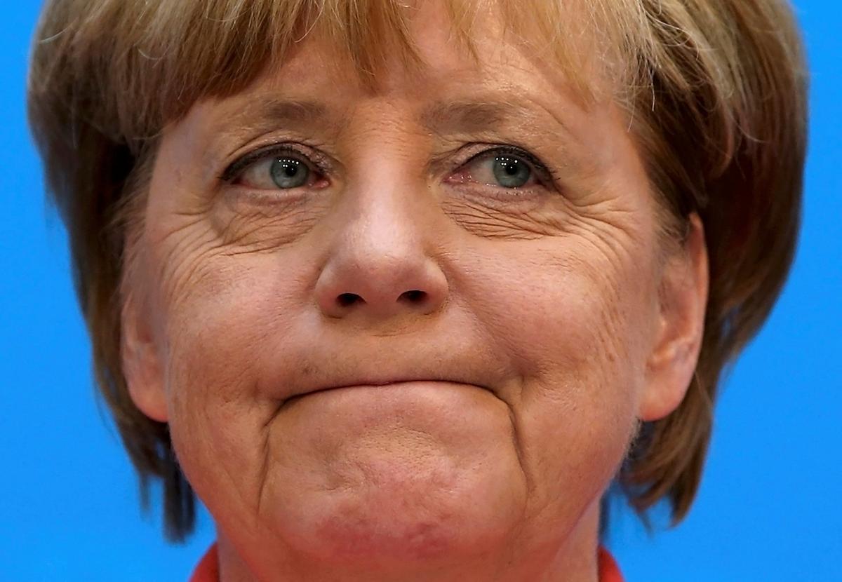 Angela Merkel, en una conferencia de prensa en Berlín, en septiembre del 2016.