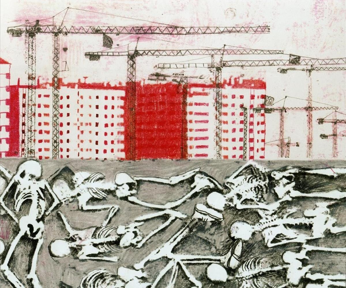 Página de 'En transición', de Ana Penyas.