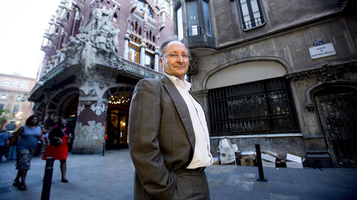 Joan Llinares ex director del Palau de la Música que desptapó el 'caso Millet'.
