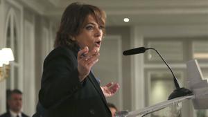 Delgado rechaza las exigencias de ERC: no se darán instrucciones a la Fiscalía