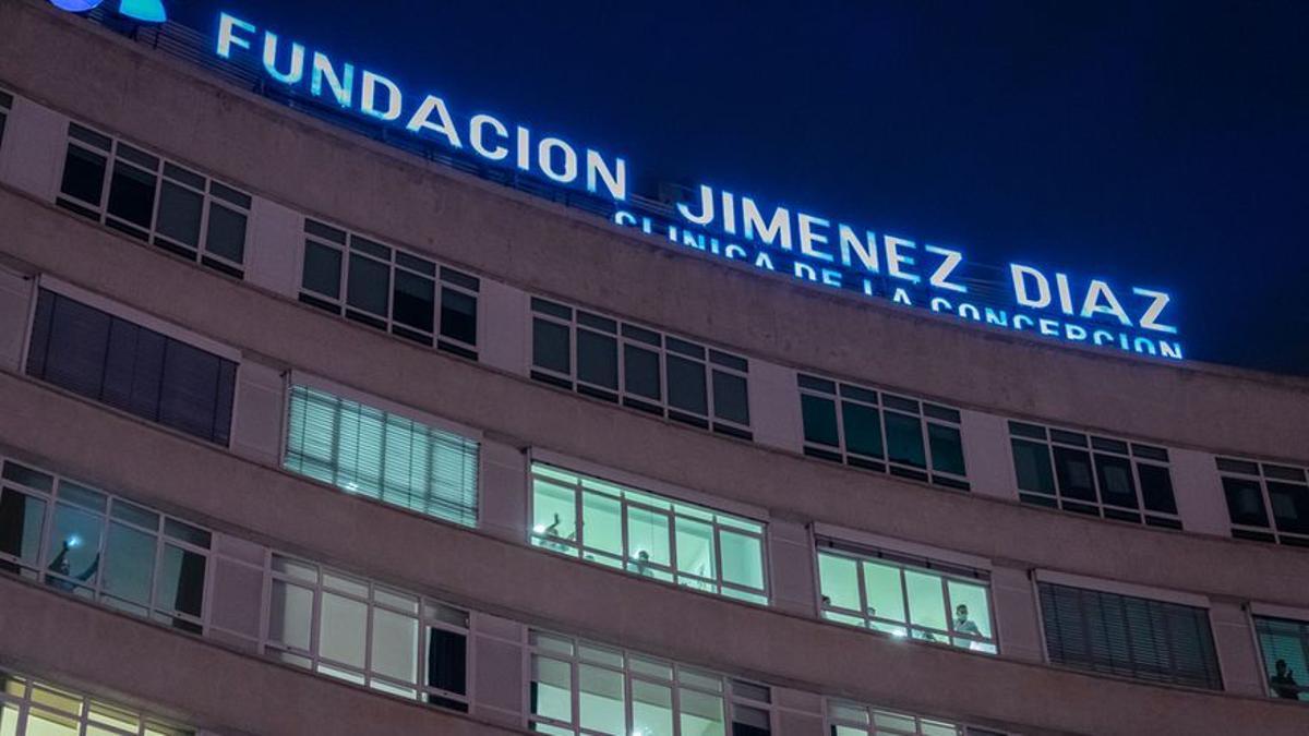 La Fundación Jiménez Díaz, el hospital español que ha tenido las UCI más ocupadas por casos de Covid-19 durante la pandemia