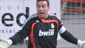 Paco Buyo, exportero del Madrid.