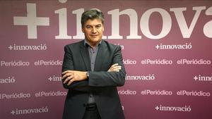 Entrevista para el suplemento +Innovación con el secretario general de Pimec, Antoni Canete.
