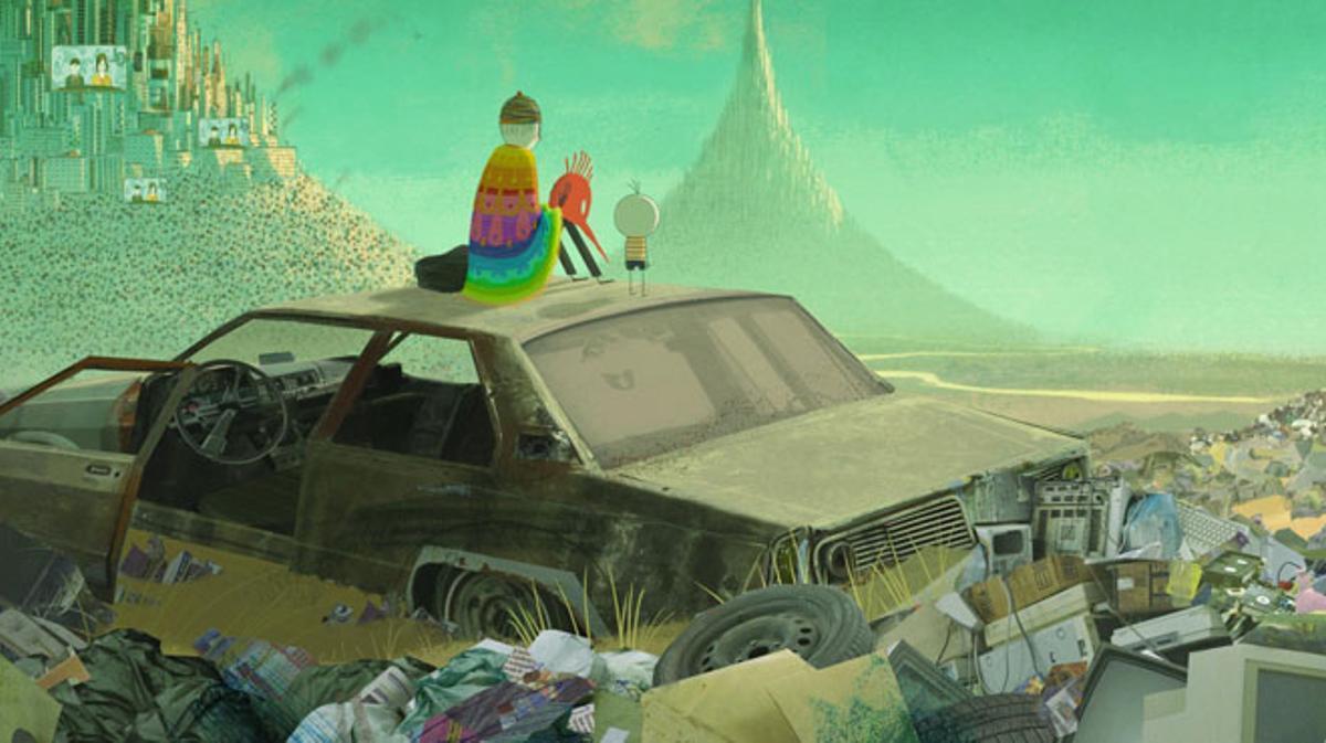 Tráiler de 'El niño y el mundo' (2013).