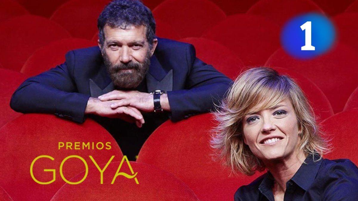 Antonio Banderas y María Casado, presentadores de la gala de la 35ª edición de los Premios Goya