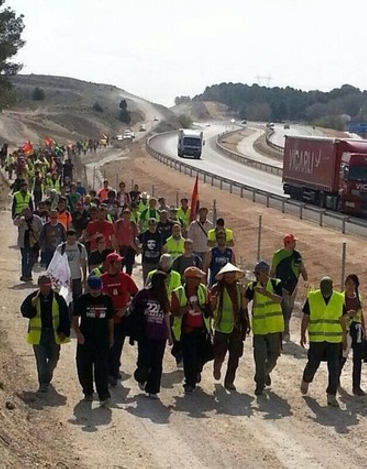 Marcha por la Dignidad, esta semana (la columna Murcia-Valencia).