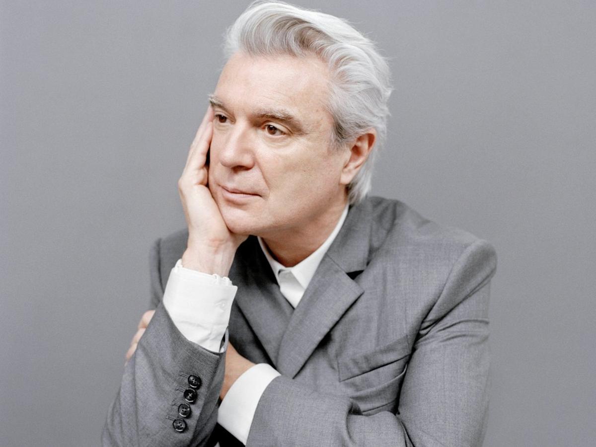 David Byrne, en una imagen promocional.