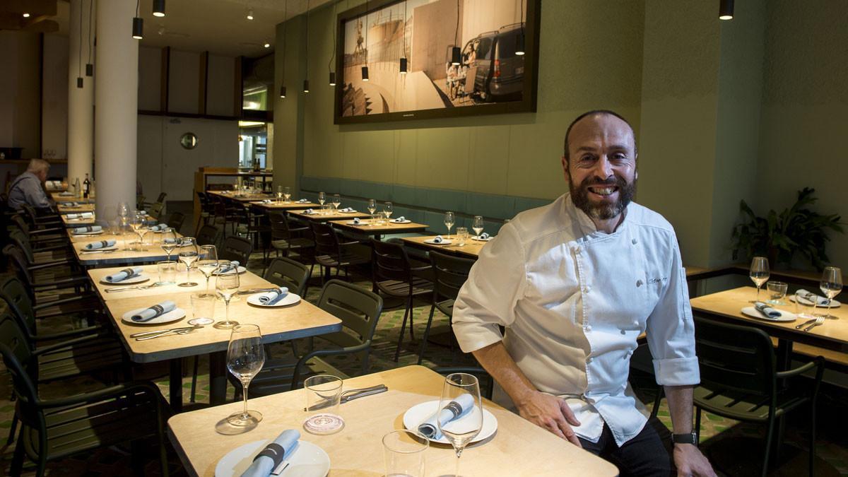 El chef Víctor Ferrer, en el comedor Slow de Bicnic.