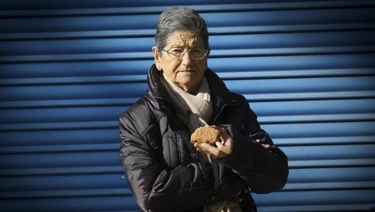 Conchita Castell, miembro de las Dones Sàvies.