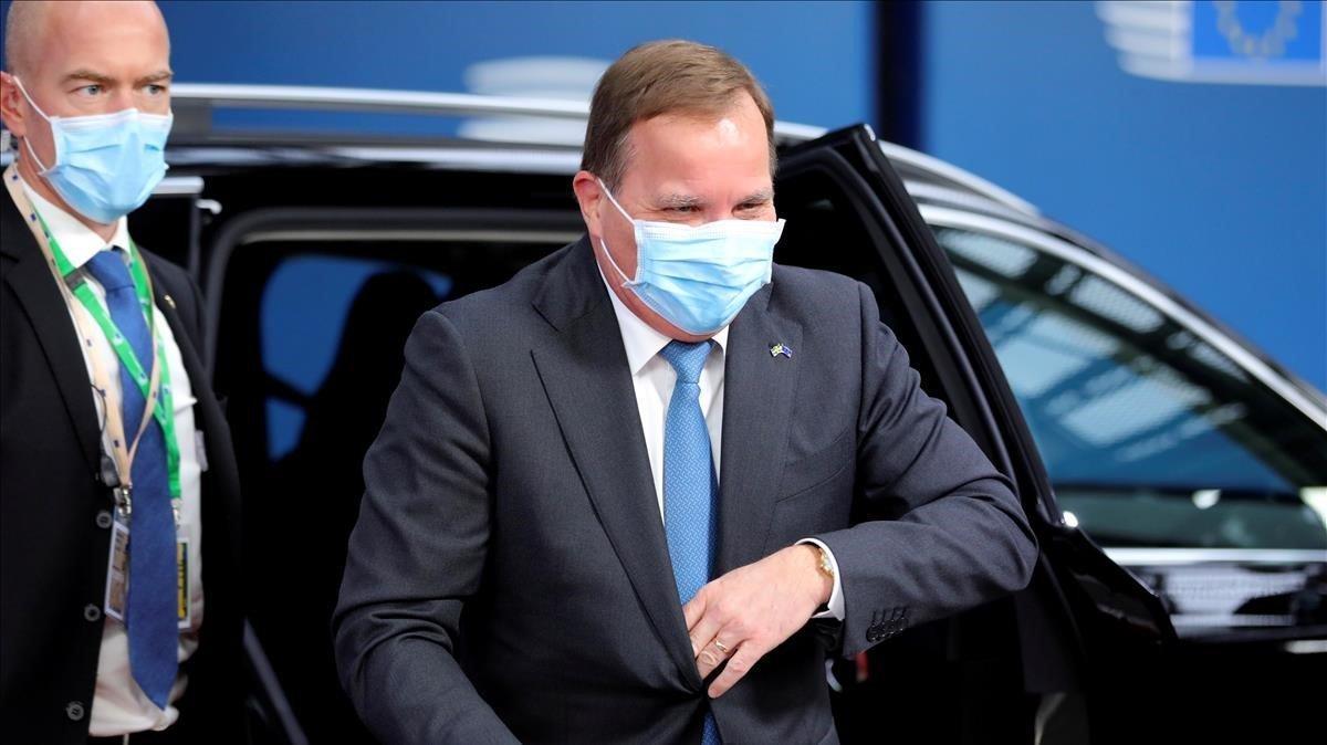 El primer ministro sueco,Stefan Lofven, el pasado 15 de octubre en Bruselas.