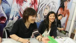 Izumi Matsumoto, en el Salón del Manga del 2010.