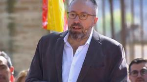 28A.- Girauta se erige como toledano desde hoy y apoyo para echar a Sánchez y a los que quieren romper el sistema