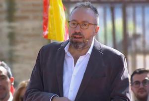 Juan Carlos Girauta, en Toledo.