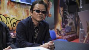 El director japonés Tadayoshi Yamamuro, en el Salón del Manga de Barcelona.