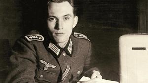 Hans Horn, en la Nochebuena de 1944.