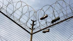 Una cárcel en una imagen de archivo.