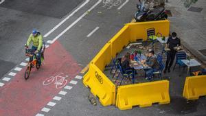 «Em van fer fora del carril terrassa de Barcelona per consumir massa a poc a poc»
