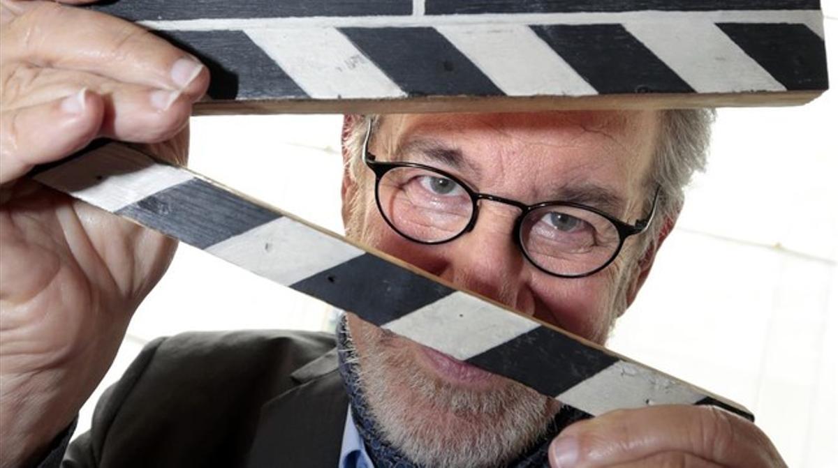 El director estadounidense Steven Spielberg.
