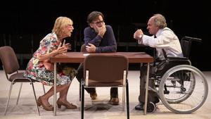Imma Colomer, Pep Ferrer y Quimet Pla en 'Un dia cualsevol', de Oriol Tarrason.