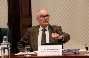 El Síndic de Greuges, Rafael Ribó, en el Parlament en una foto de archivo.