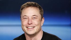 Elon Musk en una conferencia de prensa en el Centro Espacial Kennedy en Florida (EEUU) en febrero del 2018.