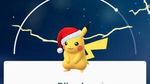 Pokémon Go estrena nuevos pokémon y un Pikachu navideño