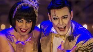 Elena Gadel e Ivan Labanda, nuevos protagonistas de 'Cabaret'.