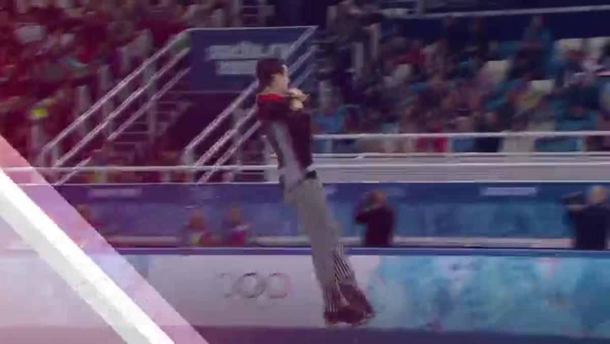 Vídeo promocional de los Juegos Olímpicos de Invierno de PyeongChang, que ofrecerá en abiertoen España el canal DMax.